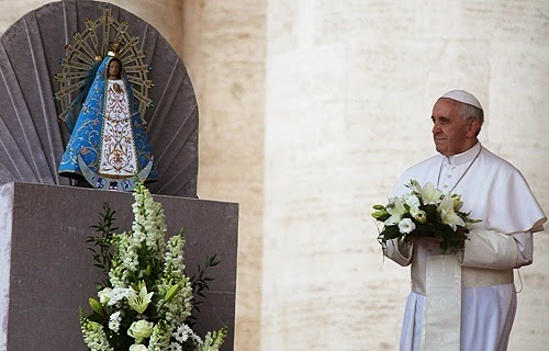 Pope Francis & Lady of Lujan